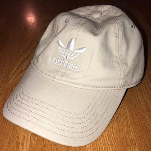 Adidas women's relaxed strapback hat